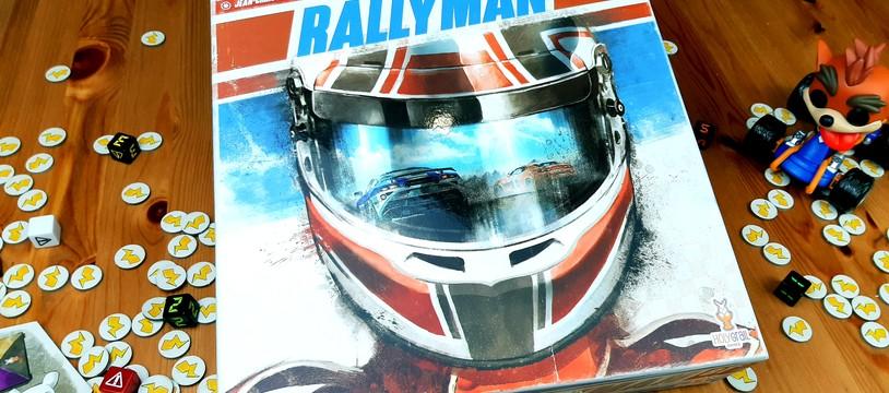Rallyman GT :  un jeu de simulation de course sur un plateau !