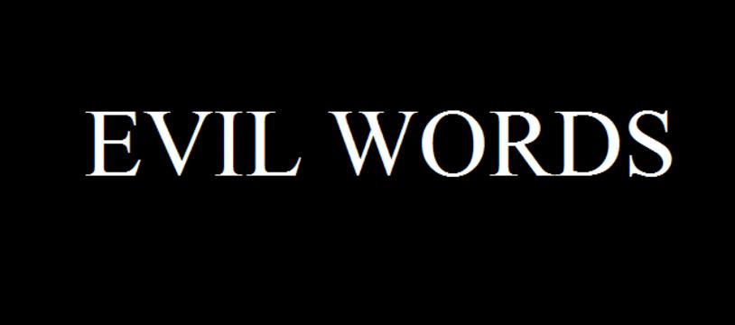 Le jeu gratuit de la semaine :  Evil Words