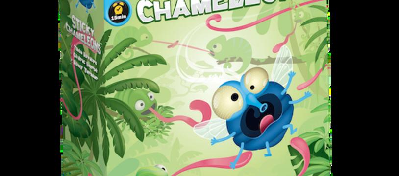 Sticky Chameleons : Tournez 7 fois votre langue dans la main avant de jouer !