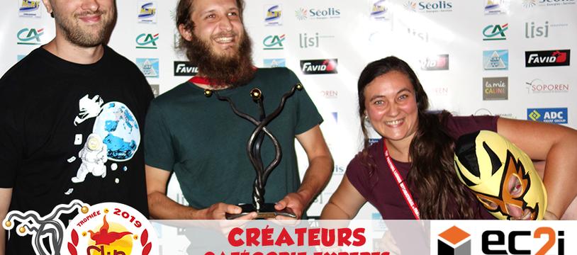 """""""Ashraka"""" remporte le Trophée FLIP Créateurs – Expert 2019 !"""