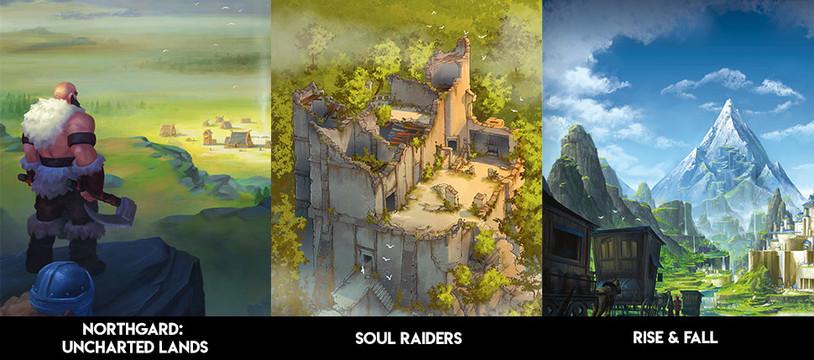 [SPIEL'19] Northgard, Soul Raiders, Rise & Fall (et plus...)