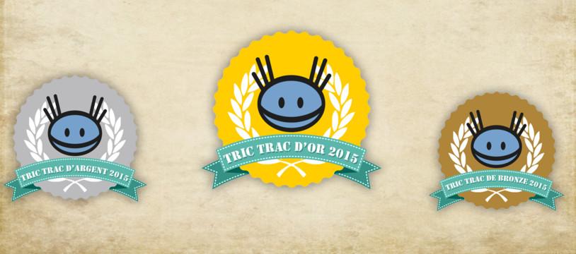 Tric Trac d'Or 2015 : Le vote toutes catégories se termine jeudi 24 décembre à 12h !