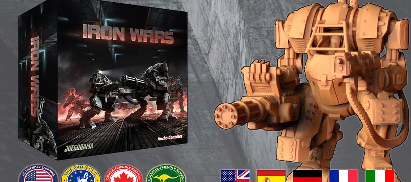 Iron Wars now on Kickstarter!