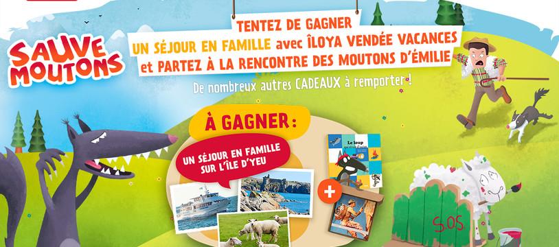 Lancement du grand jeu-concours Sauve Moutons en ligne : www.sauve-moutons.com