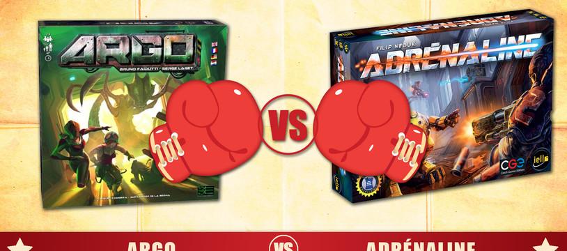 Versus : Argo VS Adrénaline