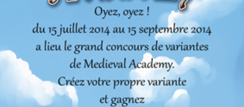 Concours pour Medieval aCADEMY