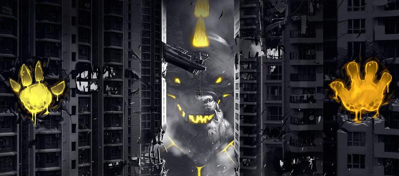 King of Tokyo Dark édition : Noir, classe et ...collector!