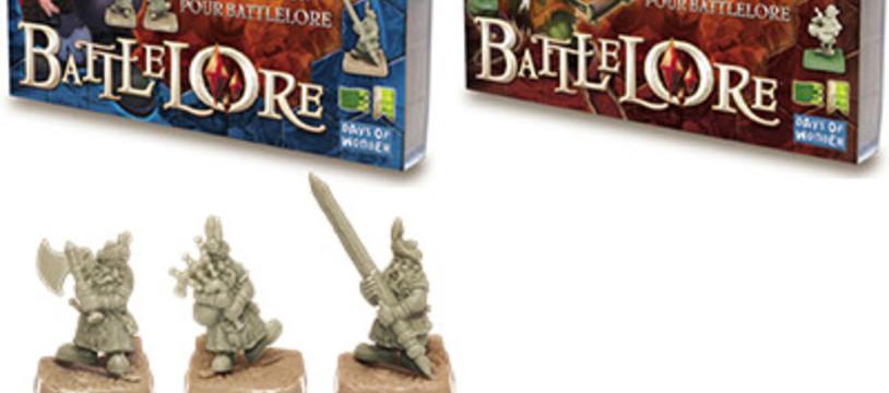 Packs spécialisés BattleLore sur les étals