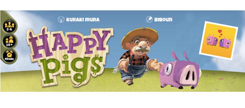 """Happy Pigs, le qu'est-ce que c'est et le bonus """"L'amour est dans le pré"""""""