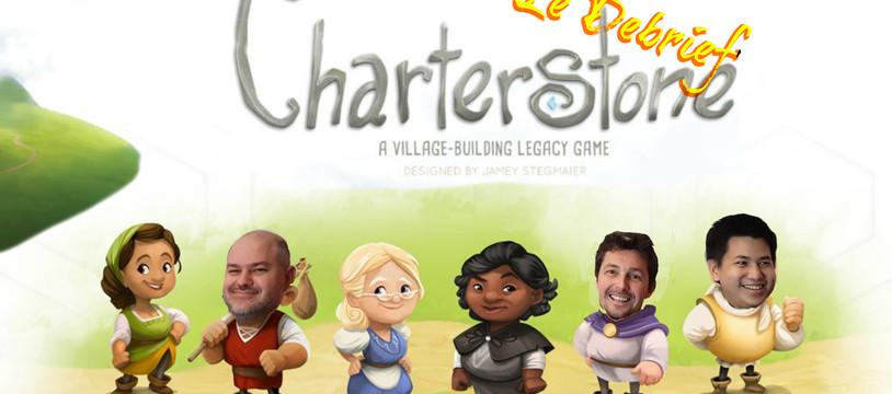 Le Debrief' de Charterstone