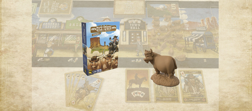 Dice Town Cowboys : It's the final Dice Town...