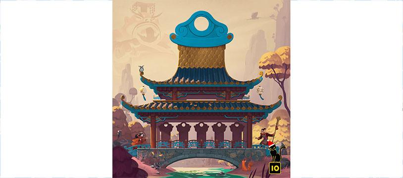 Princess Jing, le nouveau jeu de Roberto Fraga
