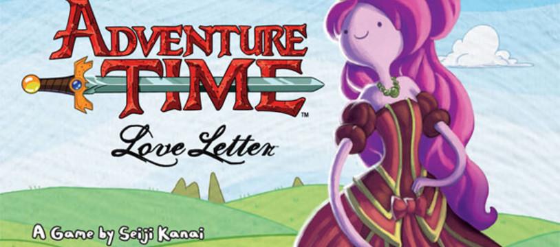 Love Letter Adventure Time, après l'anneau unique faite un bisou à la princesse Chewing-Gum