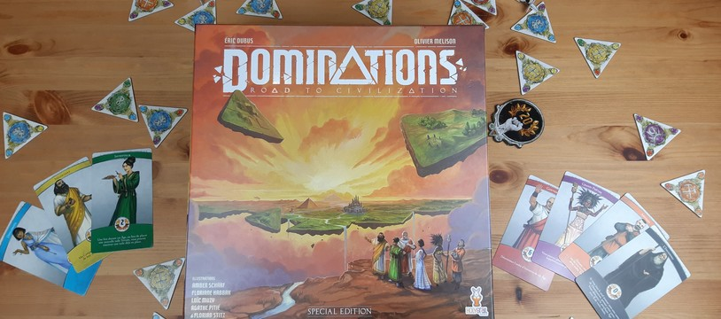 [Dominations – Road to civilization] : mixez dominos et développement de civilisation