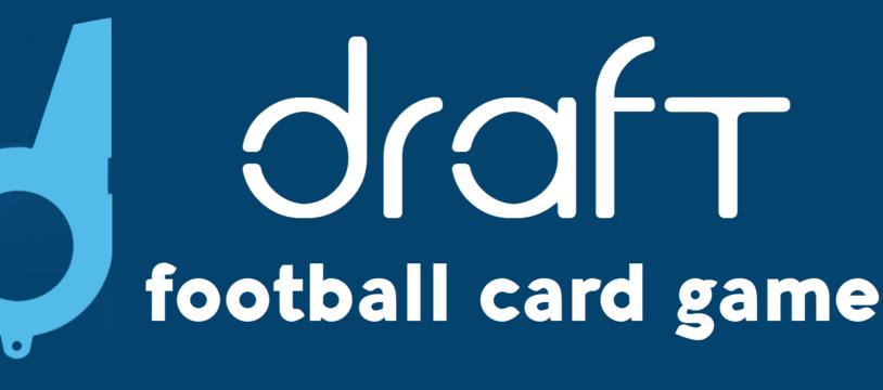 Draft footbal card game