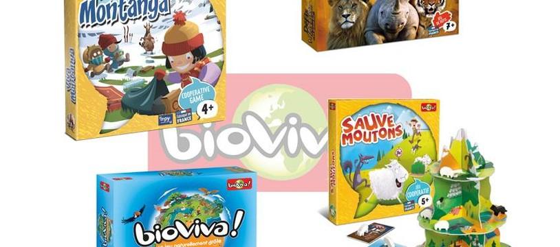 Bioviva présentera 18 nouveautés au Festival International des Jeux de Cannes