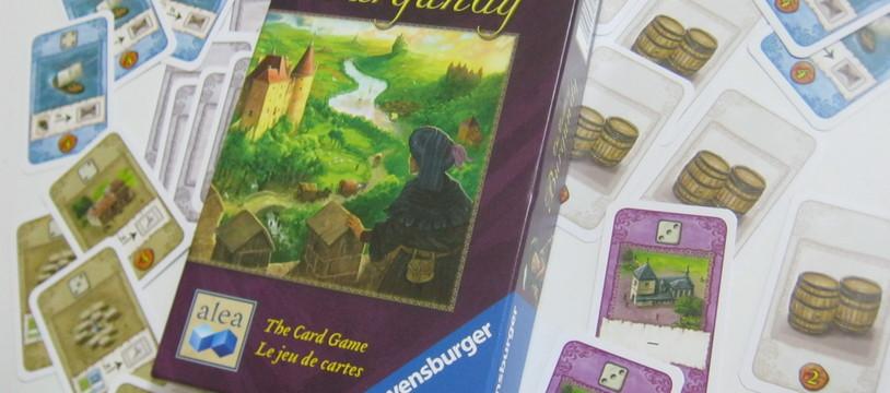 Carte Des Chateaux En Bourgogne.Critique De Les Chateaux De Bourgogne Le Jeu De Cartes