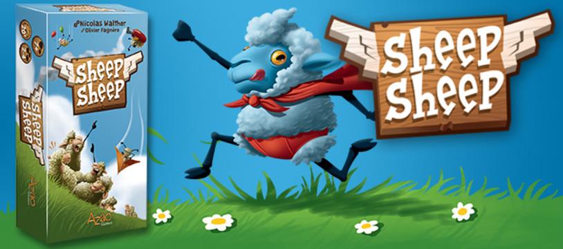 Nouveauté : Sheep Sheep ! ne soyez plus un mouton