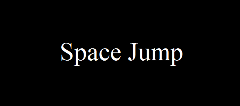 Le jeu gratuit du vendredi :  Space Jump
