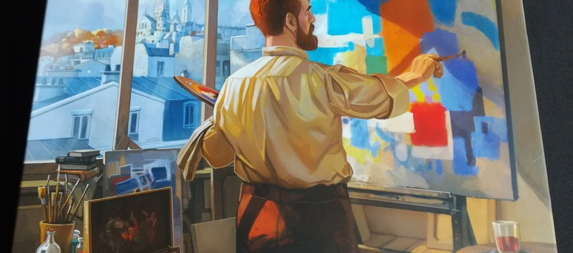 Couleurs de Paris, vous allez aimer la peinture !