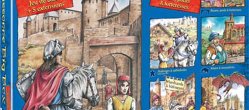 Carcassonne la grosse boîte est dispo en francophonique