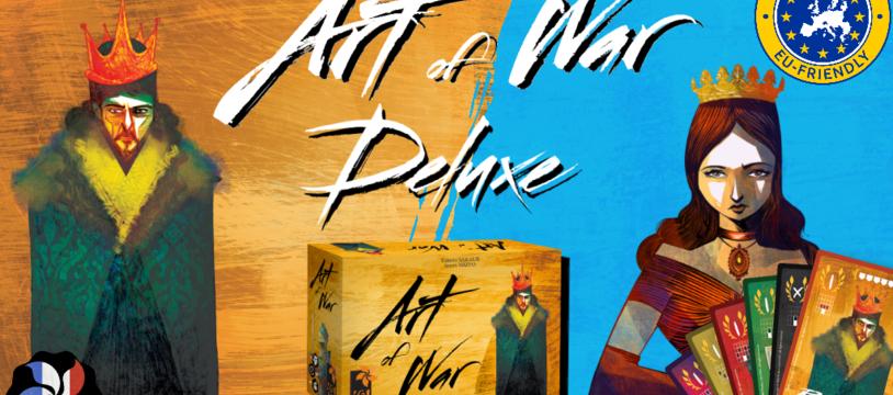 Moins de 4 jours pour soutenir la réimpression d'Art of War version deluxe sur Kickstarter avant toute rupture définitive !