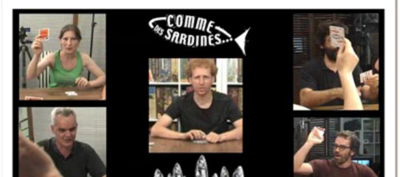 Comme des sardines dans la Tric Trac TV !
