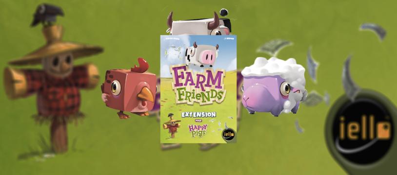 Happy Pigs: Farm Friends, mangez cinq viandes par jour...