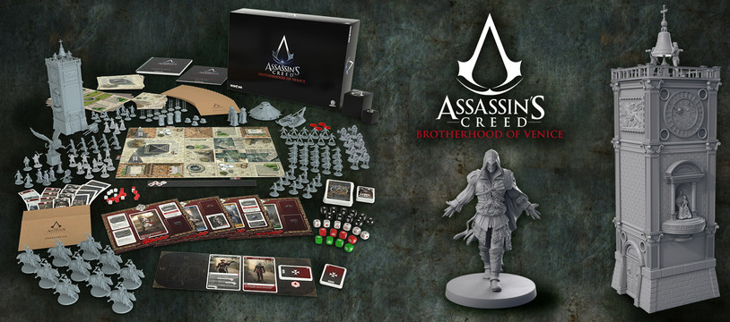Assassin's Creed®: Brotherhood of Venice - Dernières 24h sur Kickstarter
