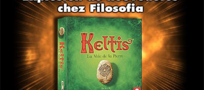 Keltis, en vert et en français