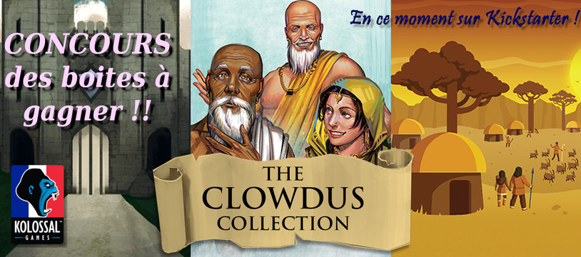 Concours The Clowdus Collection
