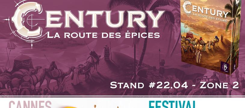 Century - La route des épices en démo à Cannes!