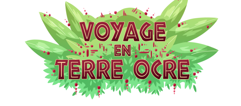 "Ma première aventure ""Voyage en terre ocre"""