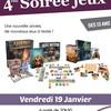 4 ème Soirée jeux ados adultes