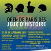 Vè Open de Paris des Jeux d'Histoire OPJH 2019