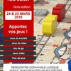Ramène tes Jeux - 7ème édition - 24 & 25 mars 2018 à Theix-Noyalo (56)