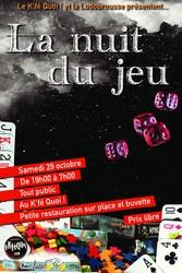 Nuit du jeu à Forcalquier (04)