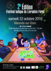 Festival Ludique du Livradois-Forez : 2ème édition