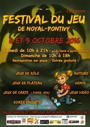 2ème Festival du jeu à Noyal-Pontivy (56)