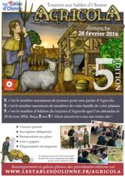 Tournoi d'Agricola 2016