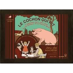 Le Cochon Qui Rit - Version Luxe - Bois