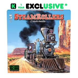 SteamRollers, c'est exclusivement* sur Kickstarter!
