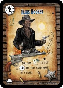 Revolver: Elias Hooker (Personnage promotionnel)