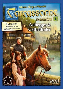 Carcassonne - Extension 1 : Auberges & Cathédrales