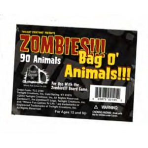 Zombies !!! Bag O Animals !!!