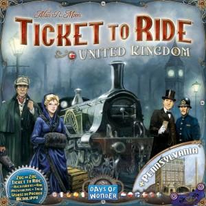 Les Aventuriers du Rail - Royaume Uni