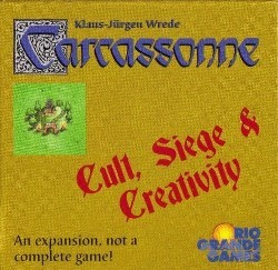 Carcassonne : Cult, Siege & Creativity