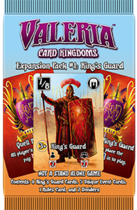 Valeria: Card Kingdoms – Expansion Pack #01: King's Guard
