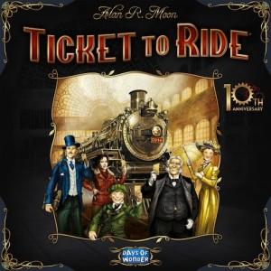 Les Aventuriers du Rail Edition 10ème Anniversaire