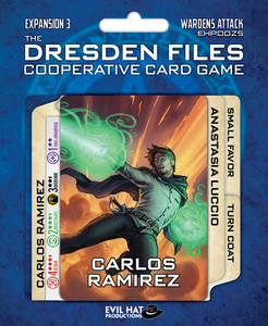 The Dresden Files Cooperative Card Game - Wardens Attack